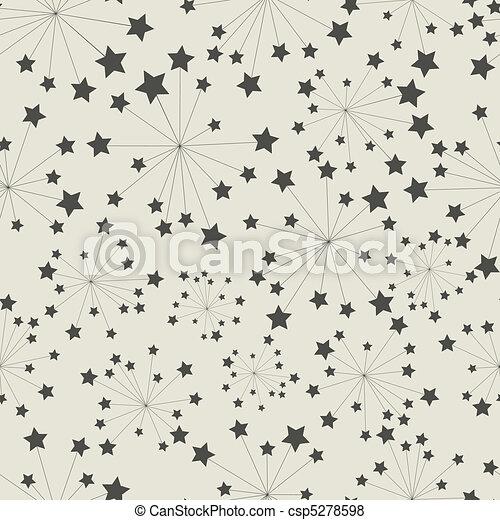 modèle, étoile - csp5278598