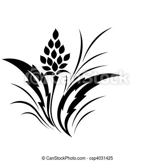 Modèle Fleur Tatouage Classique