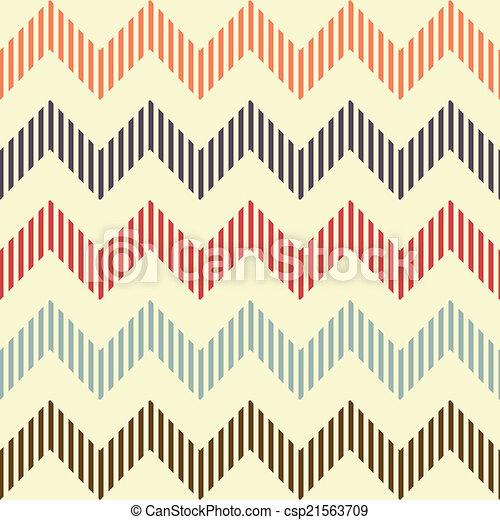 modèle, géométrique, ondulé, seamless - csp21563709