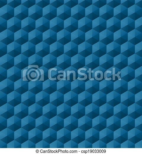 modèle, géométrique, seamless - csp19033009