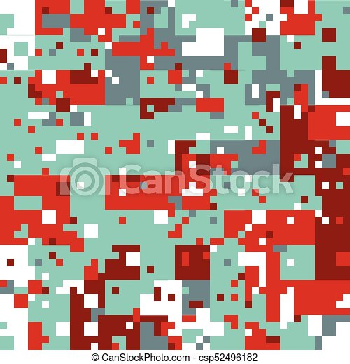 Modèle Noël Pixel