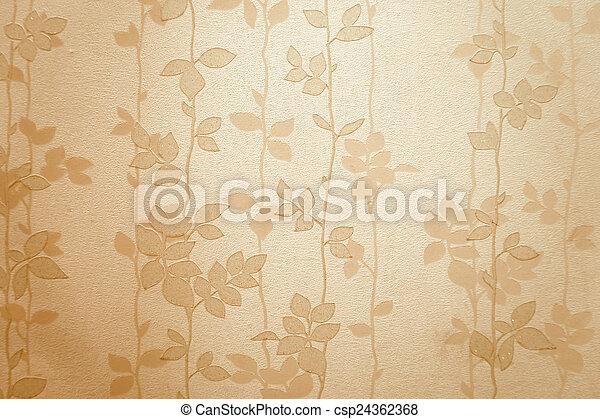modèle, papier peint - csp24362368