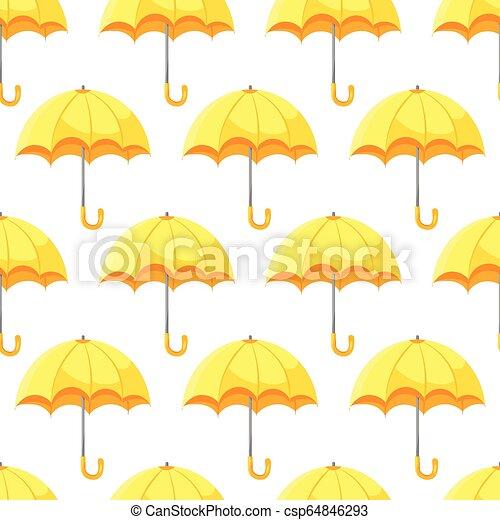 modèle, parapluie, seamless - csp64846293