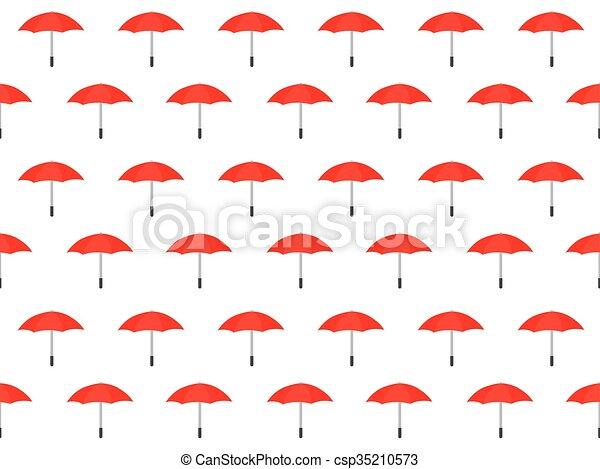 modèle, parapluie, seamless, fond - csp35210573