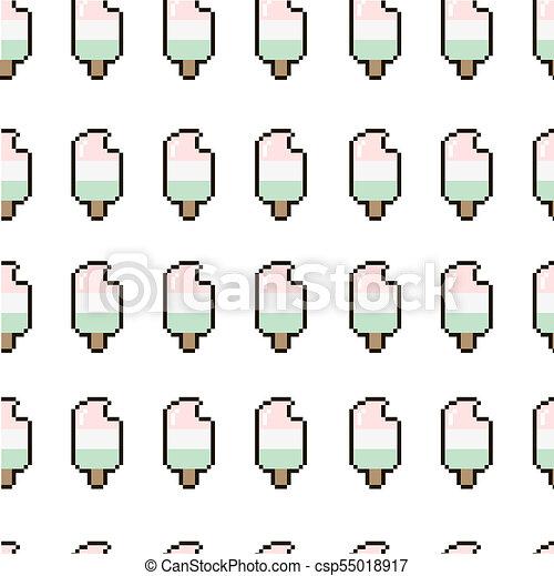 Modèle Pixel Glace