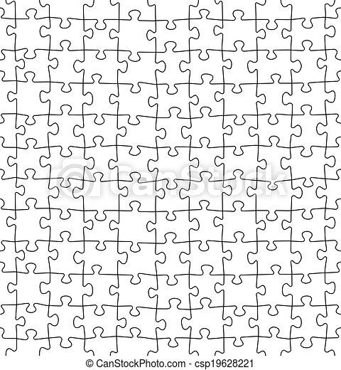modèle, puzzle, puzzle, seamless - csp19628221