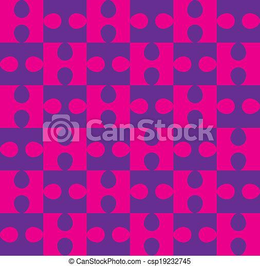 modèle, puzzle, seamless - csp19232745