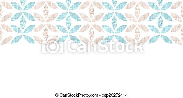 modèle, résumé, seamless, raies, textile, fond, horizontal, feuilles - csp20272414