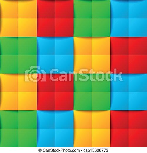 modèle, seamless, coloré - csp15608773