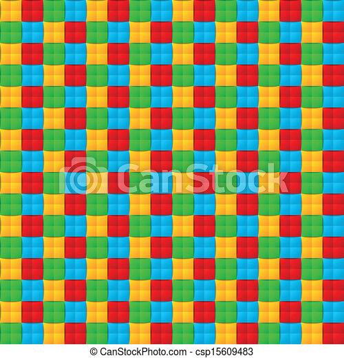 modèle, seamless, coloré - csp15609483