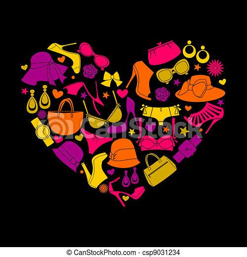 moda, amore - csp9031234