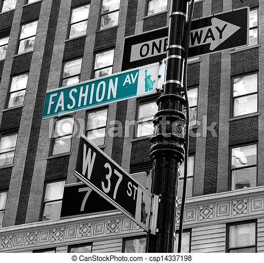 Avenida Moda - csp14337198