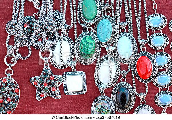 moda, barato, pulseiras - csp37587819