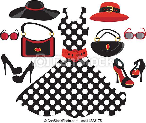 moda, colección - csp14323175