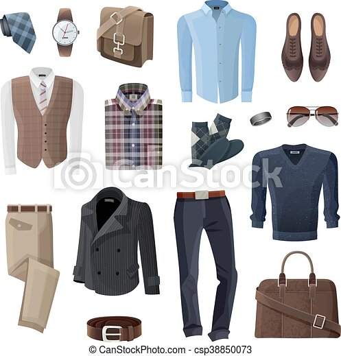 selección premium bcbdf c6076 moda, conjunto, accesorios, hombre de negocios