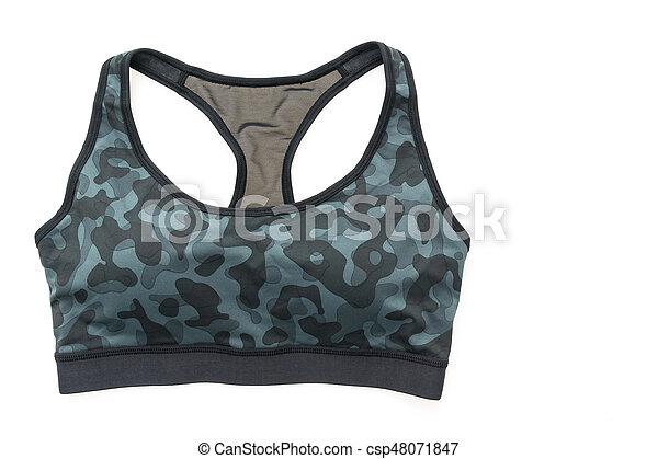 moda, deporte, sostén - csp48071847