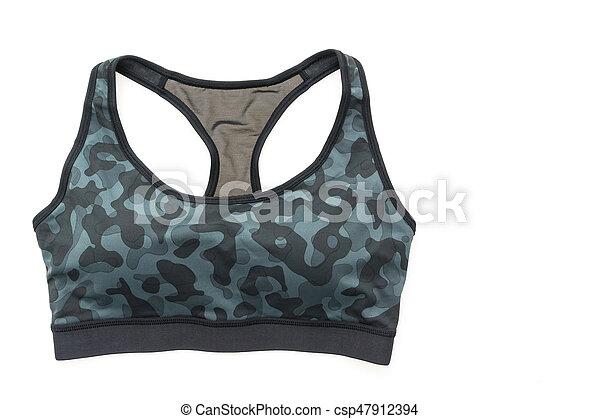 moda, deporte, sostén - csp47912394