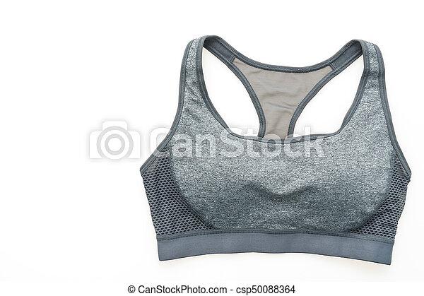 moda, deporte, sostén - csp50088364