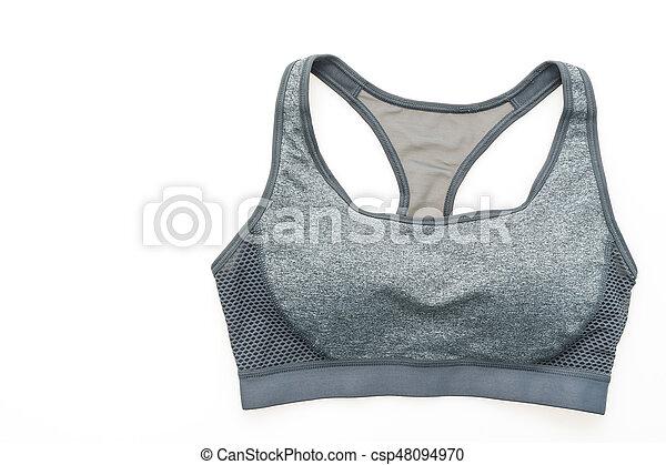 moda, deporte, sostén - csp48094970