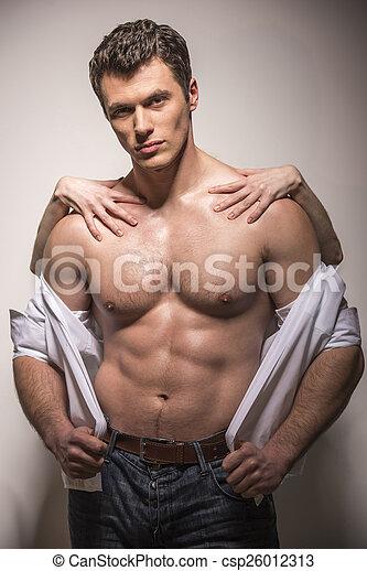 Hombre de la moda - csp26012313