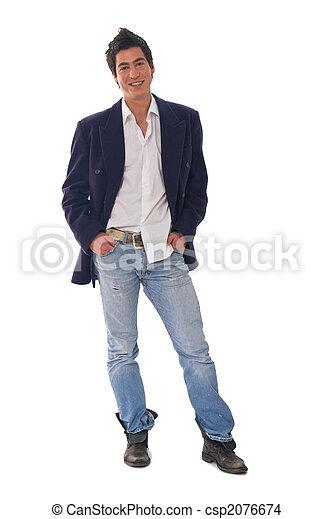 moda, homem - csp2076674