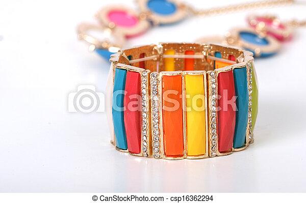 moda, pulseira - csp16362294