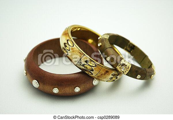 moda, pulseiras - csp0289089