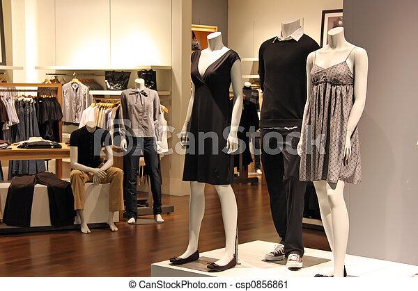 moda, vendita dettaglio - csp0856861