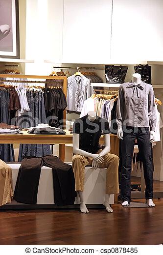 moda, venta al por menor - csp0878485