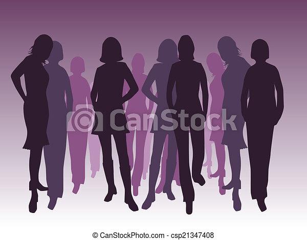 mode, femmes - csp21347408