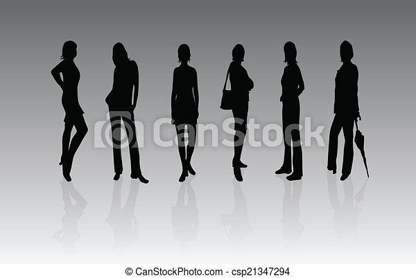 mode, femmes - csp21347294