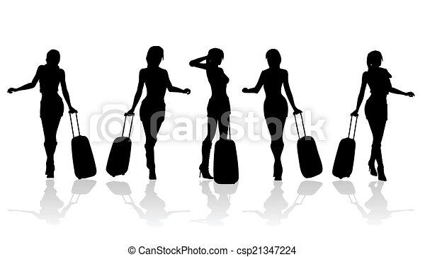 mode, femmes - csp21347224