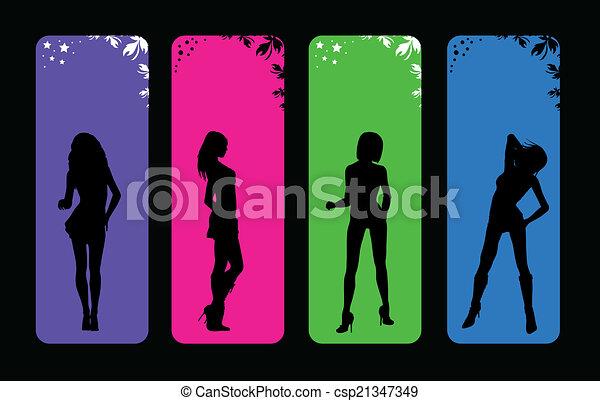 mode, femmes - csp21347349