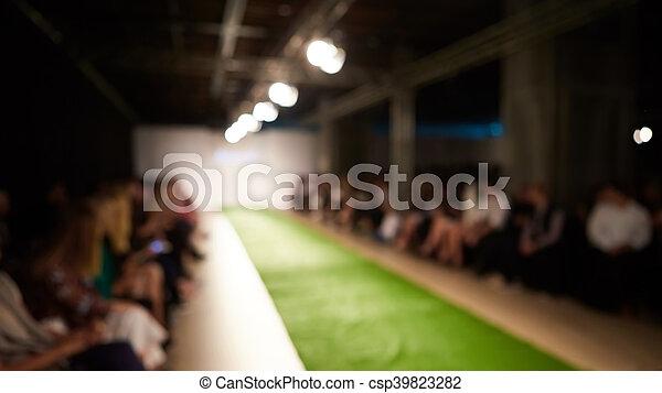 mode, startbahn, hintergrund., fokus, verwischen, heraus - csp39823282