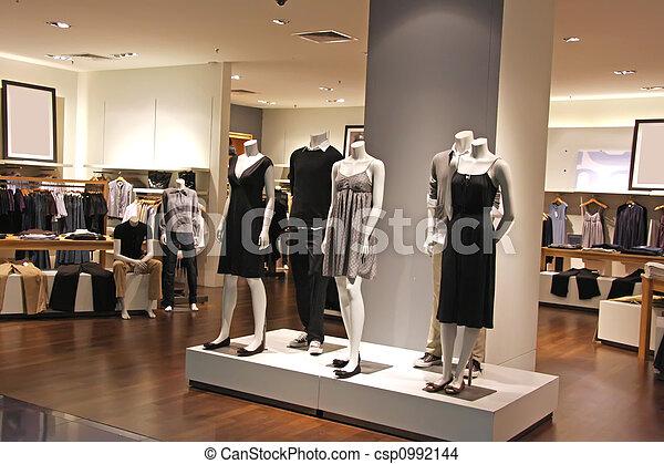 mode, vente au détail - csp0992144