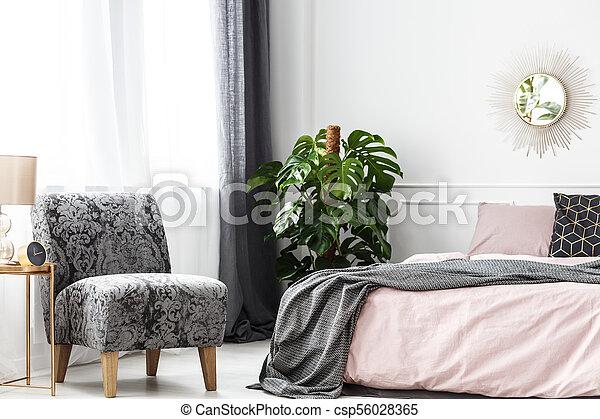 Modelé, Fauteuil, Confortable, Chambre À Coucher