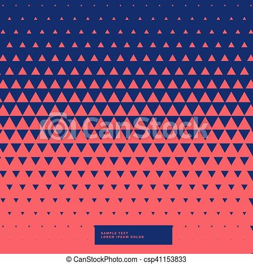 model, abstract, driehoeken, achtergrond - csp41153833