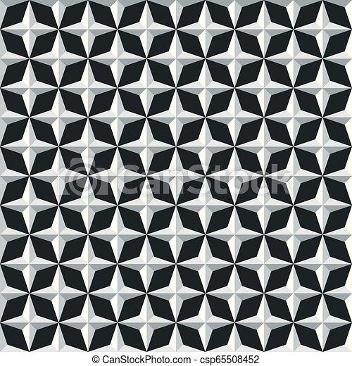 model, abstract, seamless, achtergrond, geometrisch - csp65508452
