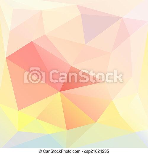 model, abstraktní, květinový - csp21624235