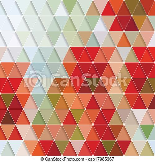 model, driehoeken - csp17985367