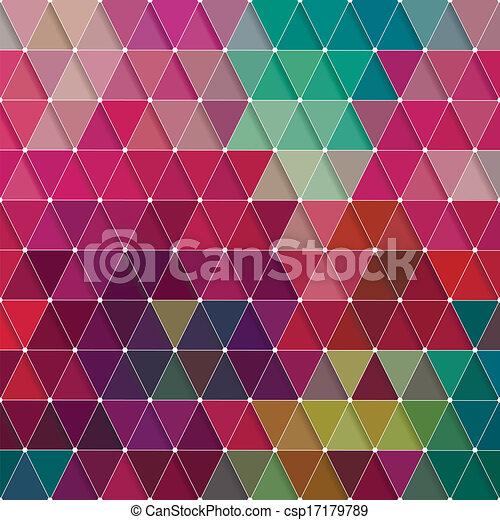 model, driehoeken - csp17179789