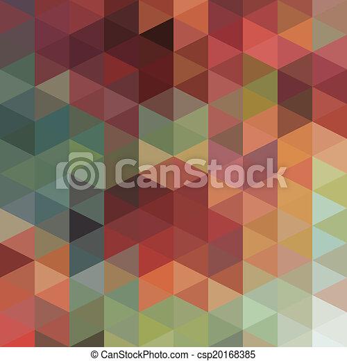 model, driehoeken - csp20168385