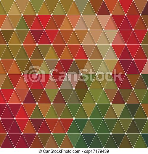 model, driehoeken - csp17179439