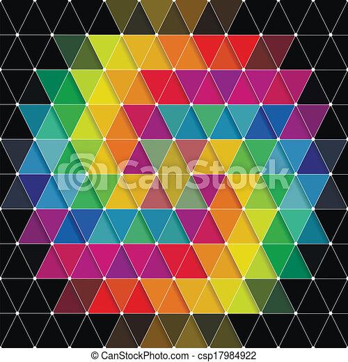 model, driehoeken - csp17984922