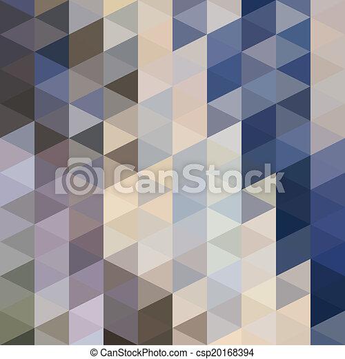 model, driehoeken - csp20168394