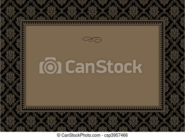 model, frame, vector - csp3957466