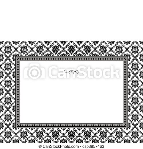 model, frame, vector - csp3957463