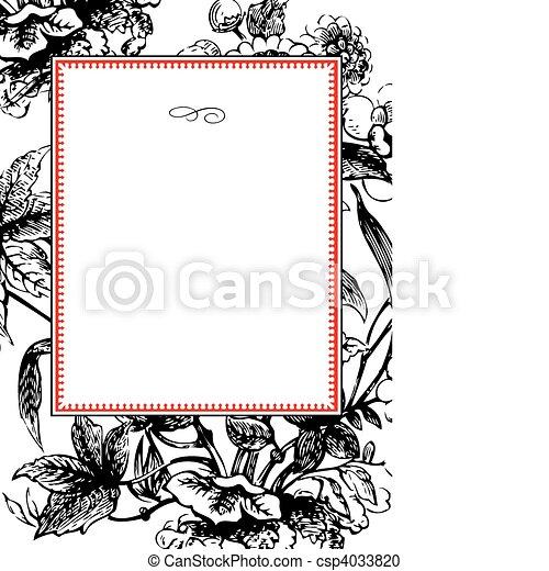 model, frame, vector - csp4033820