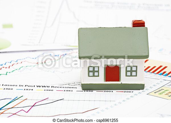 Model of a house - csp6961255