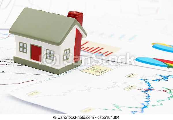 Model of a house - csp5184384